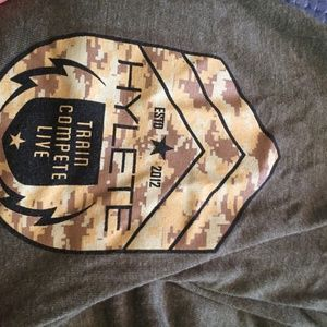 Hylete training shirt